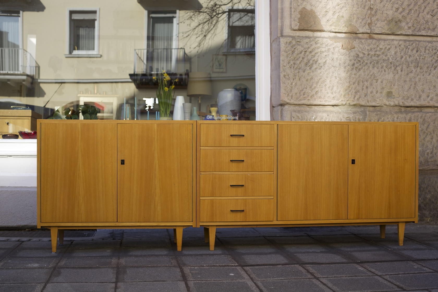 sideboard 50er jahre raumwunder vintage wohnen in n rnberg. Black Bedroom Furniture Sets. Home Design Ideas