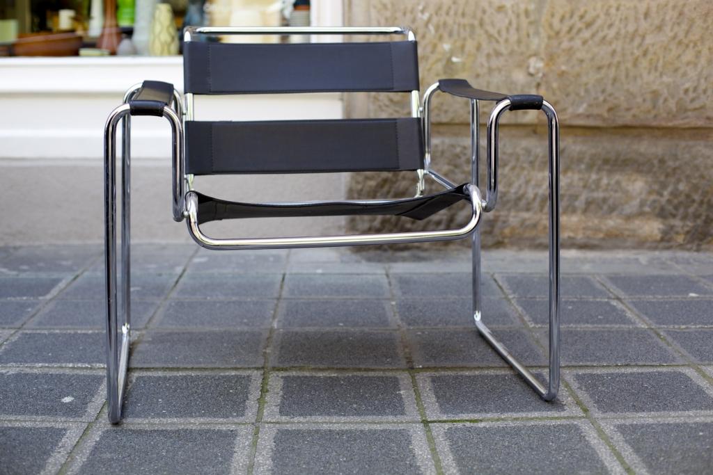 Stahlrohr Sessel zwei stahlrohrsessel ähnlich wassily raumwunder vintage wohnen