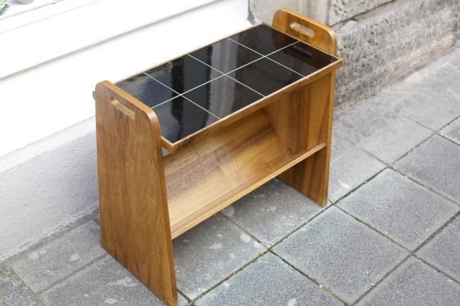 beistelltisch der 60er jahre raumwunder vintage wohnen in n rnberg. Black Bedroom Furniture Sets. Home Design Ideas