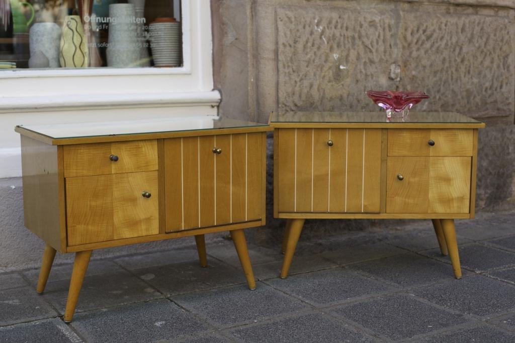 kleine 50er jahre kommoden raumwunder vintage wohnen in n rnberg. Black Bedroom Furniture Sets. Home Design Ideas