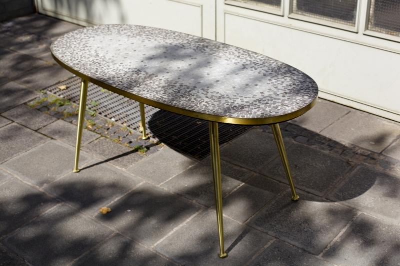 mosaiktisch 50er jahre raumwunder vintage wohnen in n rnberg. Black Bedroom Furniture Sets. Home Design Ideas