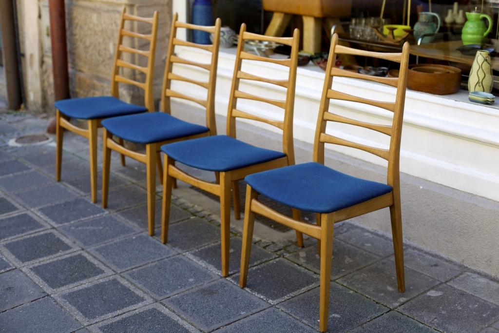 satz esszimmerst hle 50er jahre raumwunder vintage wohnen in n rnberg. Black Bedroom Furniture Sets. Home Design Ideas