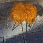 Hocker orange 1