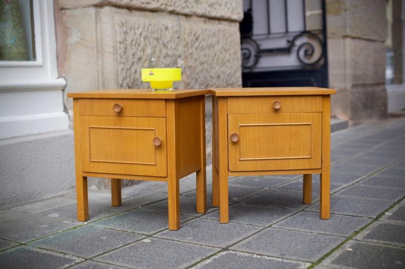 zwei nachtschr nkchen von wk m bel raumwunder vintage wohnen in n rnberg. Black Bedroom Furniture Sets. Home Design Ideas