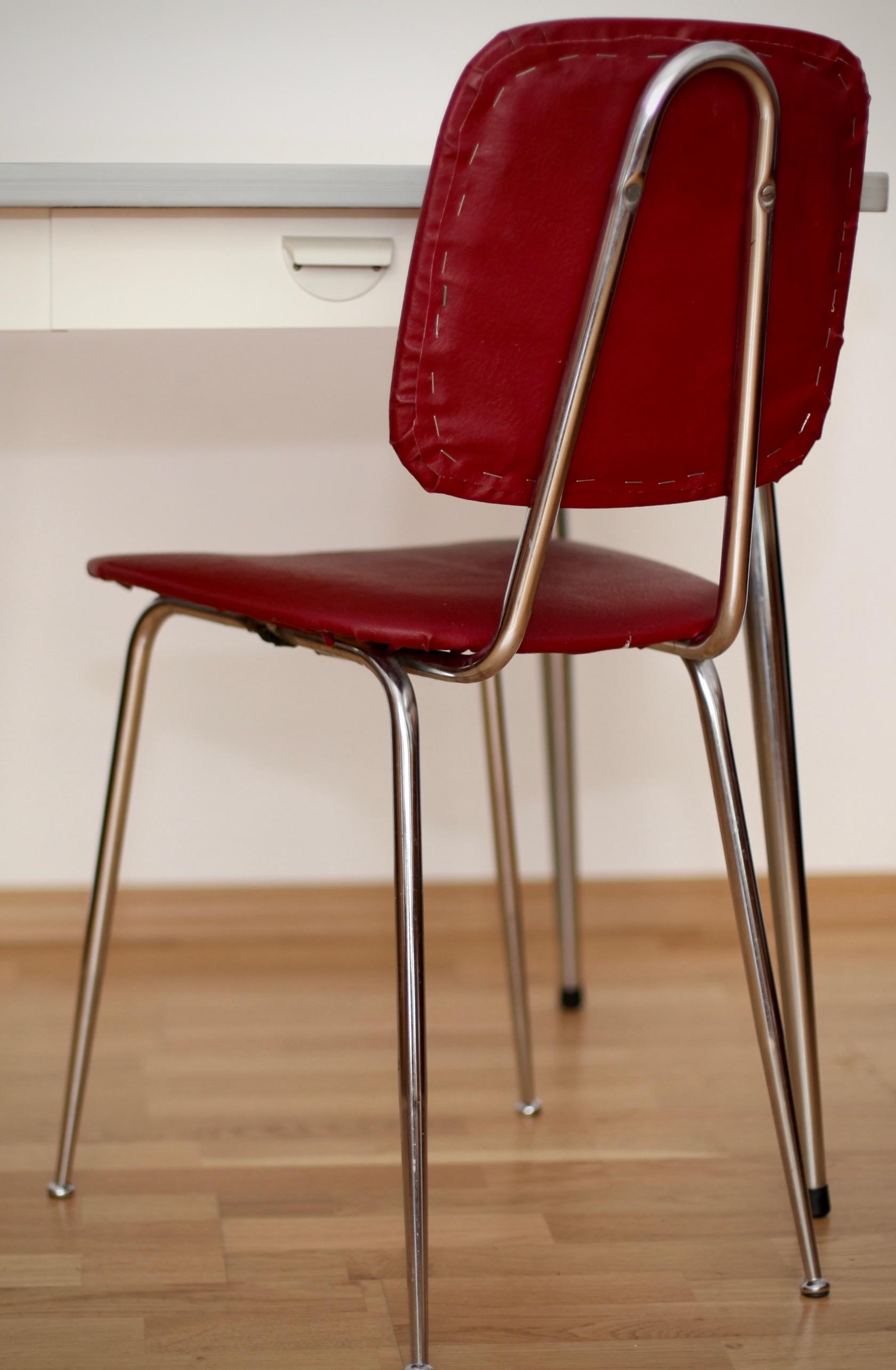 Kleiner Küchentisch mit Stuhl - raumwunder - vintage wohnen in nürnberg