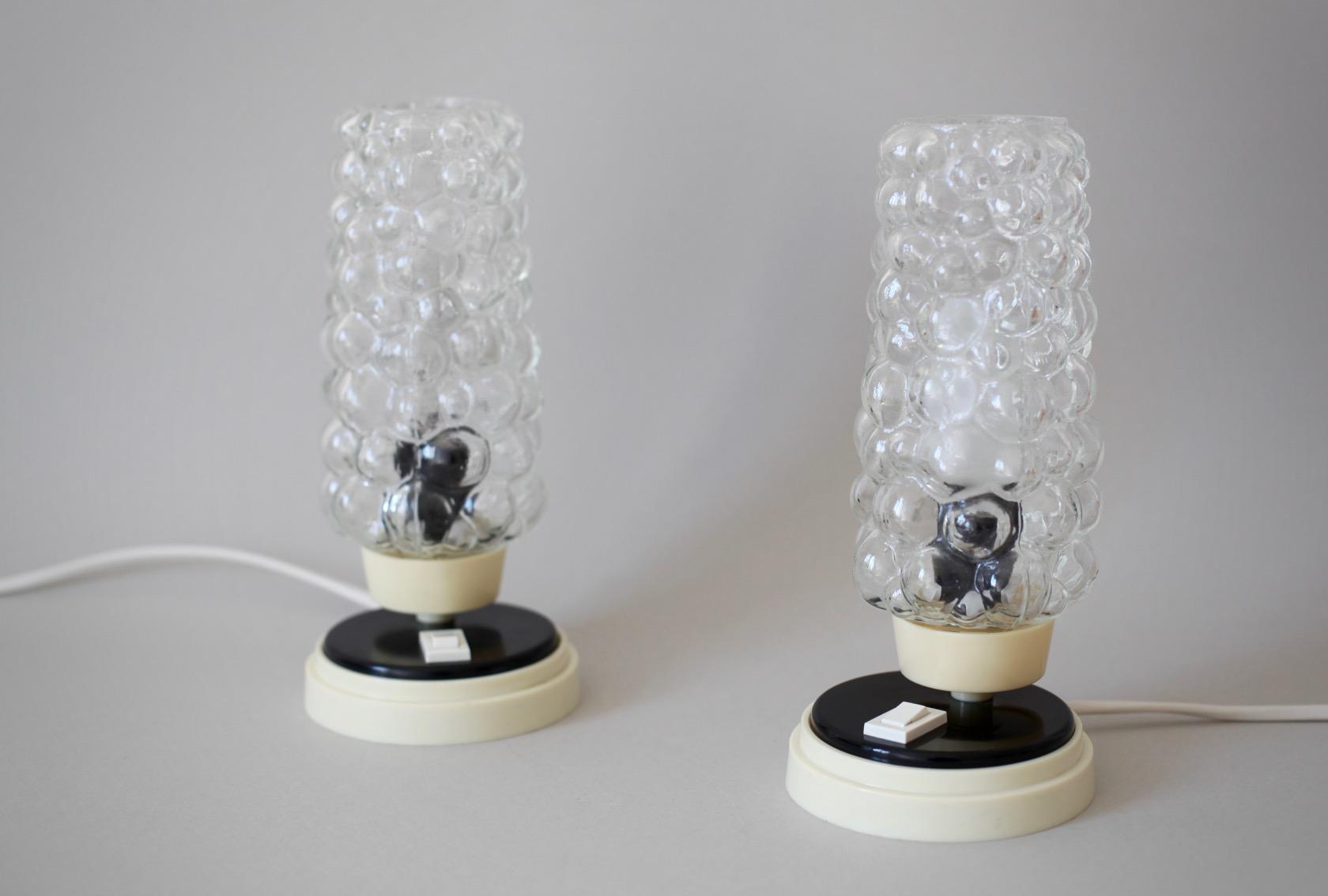 ein paar nachttischlampen aus den 60er jahren raumwunder vintage wohnen in n rnberg. Black Bedroom Furniture Sets. Home Design Ideas