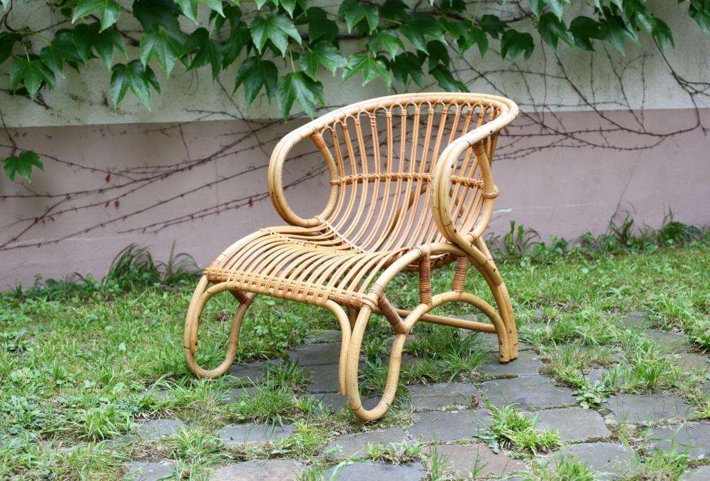 rattansessel aus den 50er jahren raumwunder vintage wohnen in n rnberg. Black Bedroom Furniture Sets. Home Design Ideas