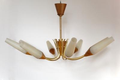 Grosse Sputniklampe Aus Den 50er Jahren