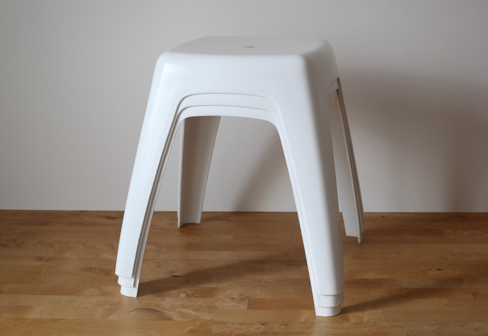 kunststoff stapelhocker aus den 70ern raumwunder vintage wohnen in n rnberg. Black Bedroom Furniture Sets. Home Design Ideas