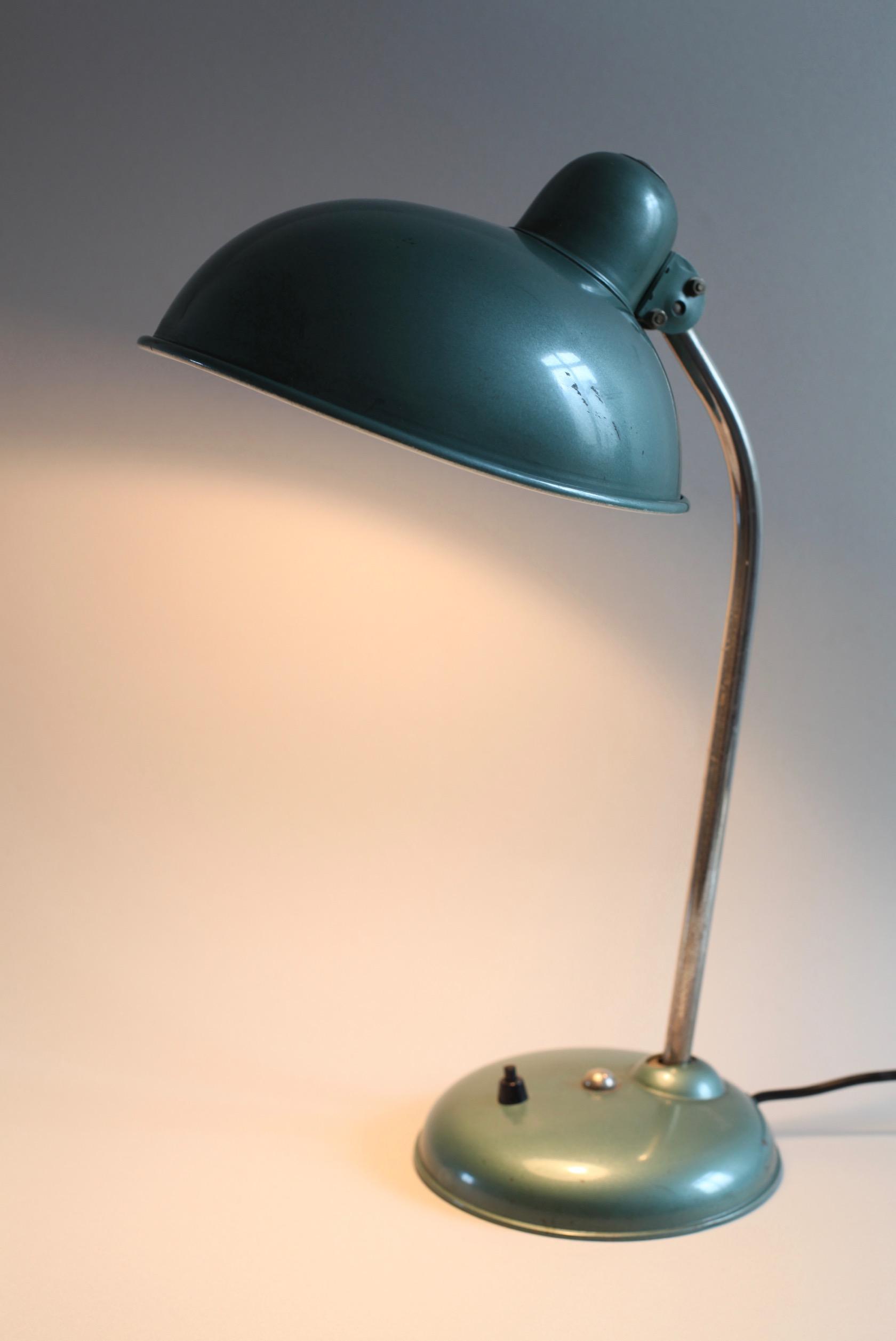 vintage arbeitslampe von helo leuchten raumwunder vintage wohnen in n rnberg. Black Bedroom Furniture Sets. Home Design Ideas