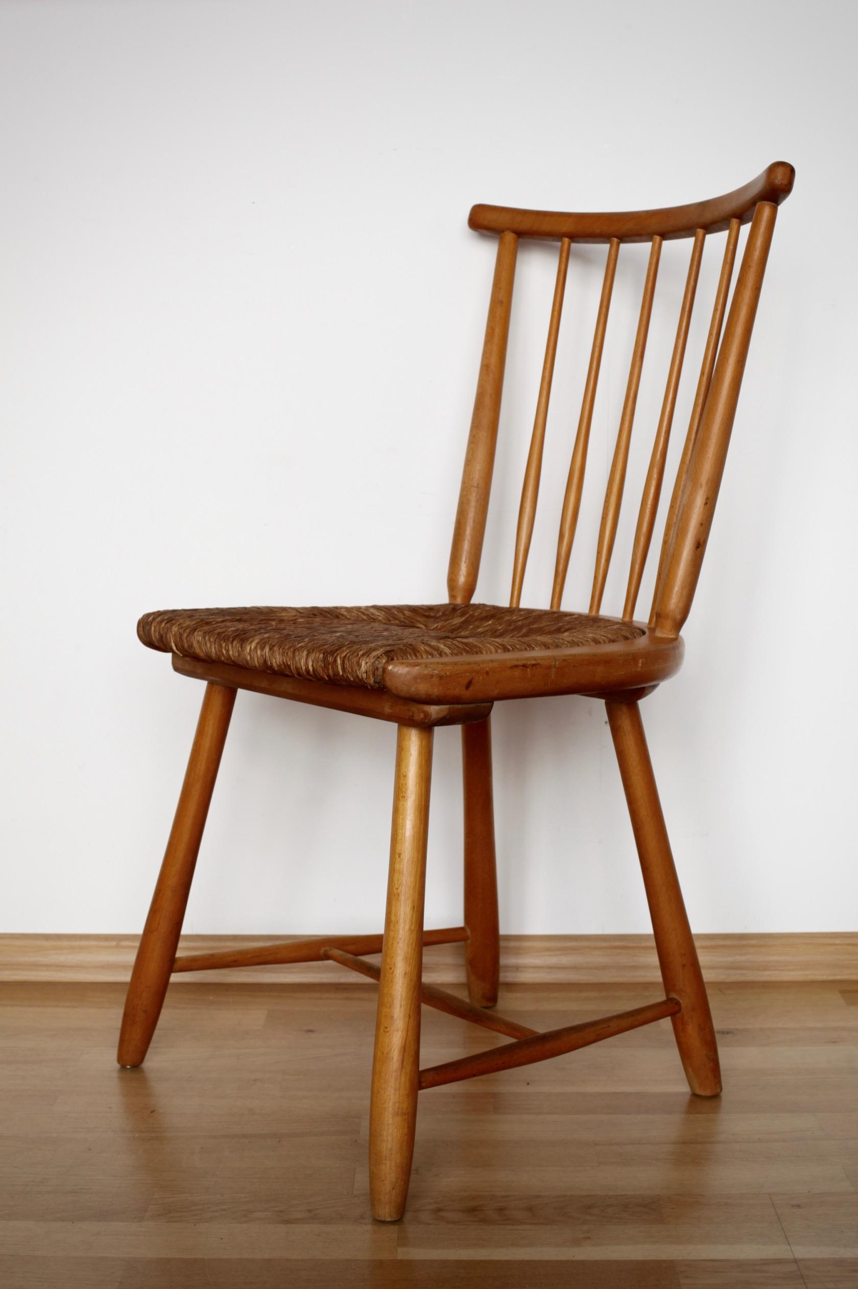 vier st hle von arno lambrecht f r wk m bel raumwunder vintage wohnen in n rnberg. Black Bedroom Furniture Sets. Home Design Ideas