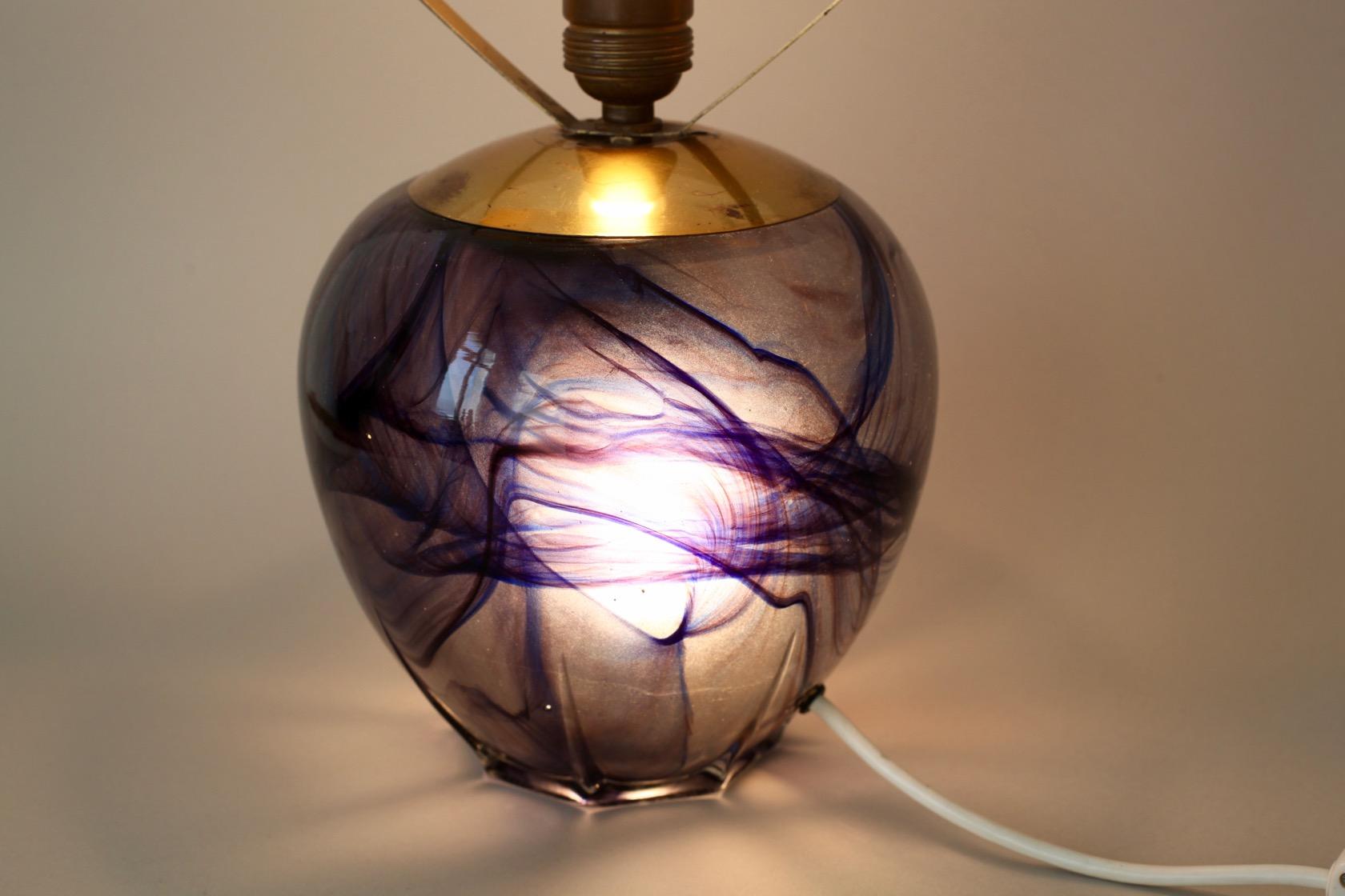 tischlampe aus den 50er jahren raumwunder vintage wohnen in n rnberg. Black Bedroom Furniture Sets. Home Design Ideas