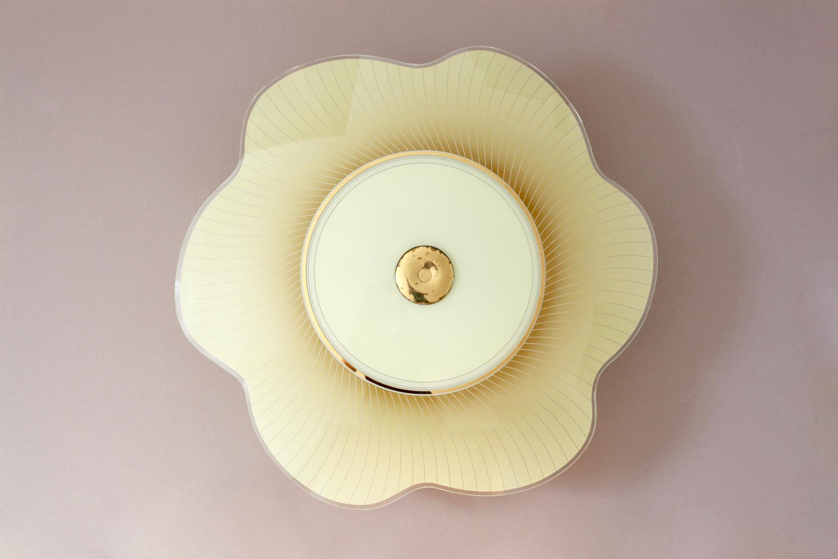 Plafoniere Vintage : Deckenlampe aus den 50er jahren raumwunder vintage wohnen in