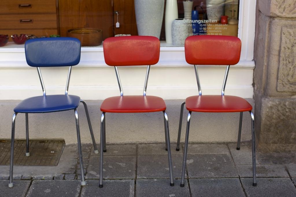 Küchenstühle 60er-Jahre - raumwunder - vintage wohnen in nürnberg