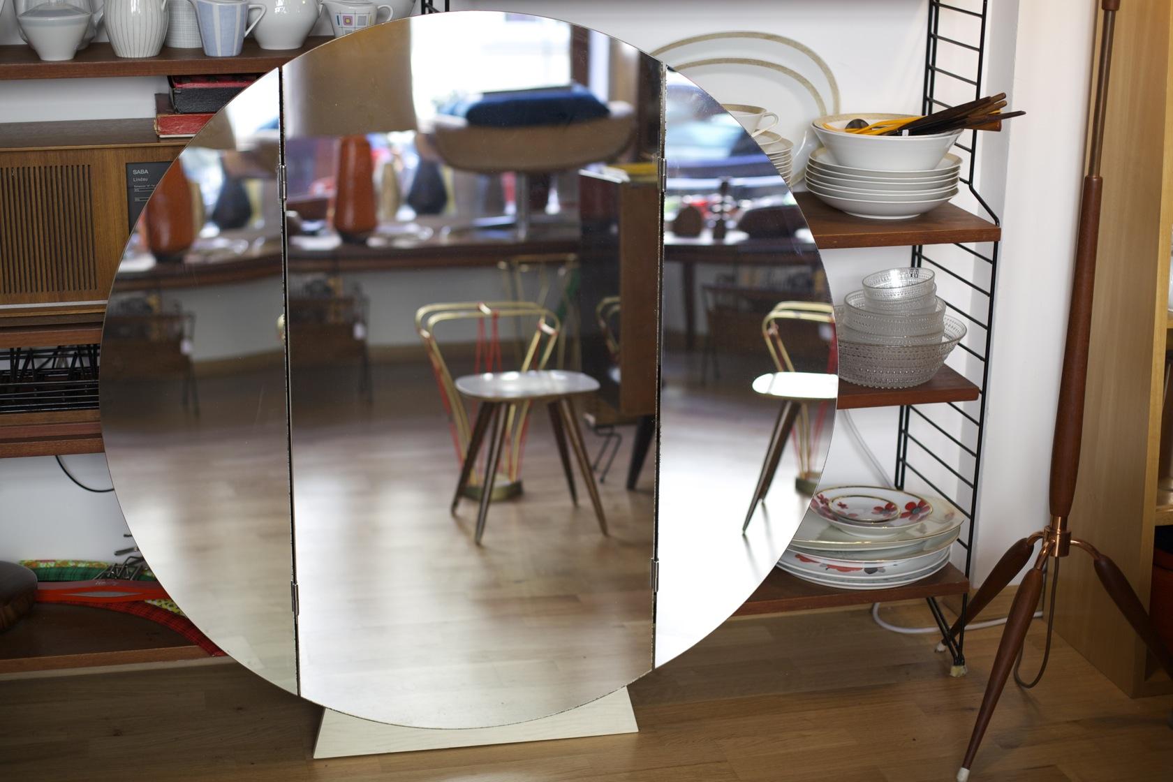 ungew hnlicher klappspiegel raumwunder vintage wohnen in n rnberg. Black Bedroom Furniture Sets. Home Design Ideas