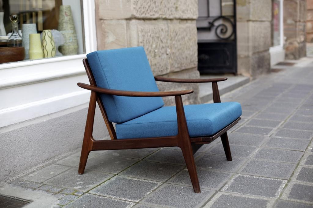 Easy chair aus den 50er jahren raumwunder vintage for Sessel aus den 50er jahren