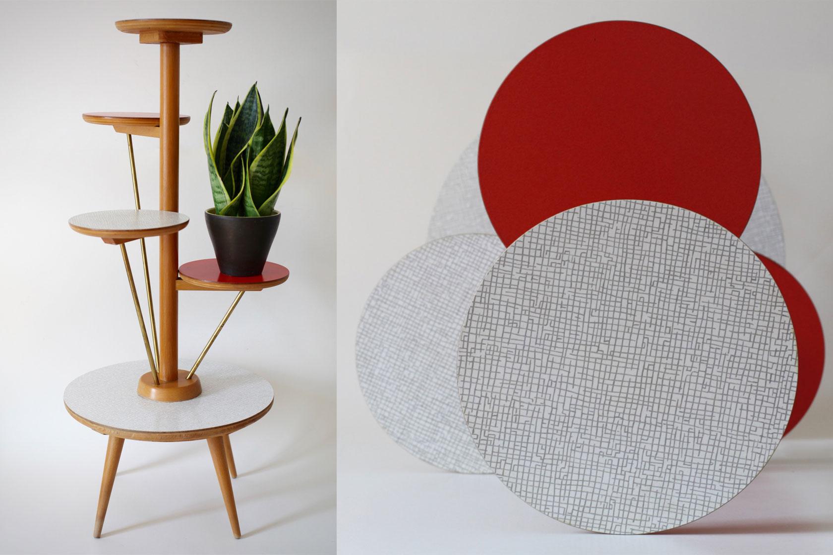 blumenetagere von ilse m bel raumwunder vintage wohnen. Black Bedroom Furniture Sets. Home Design Ideas