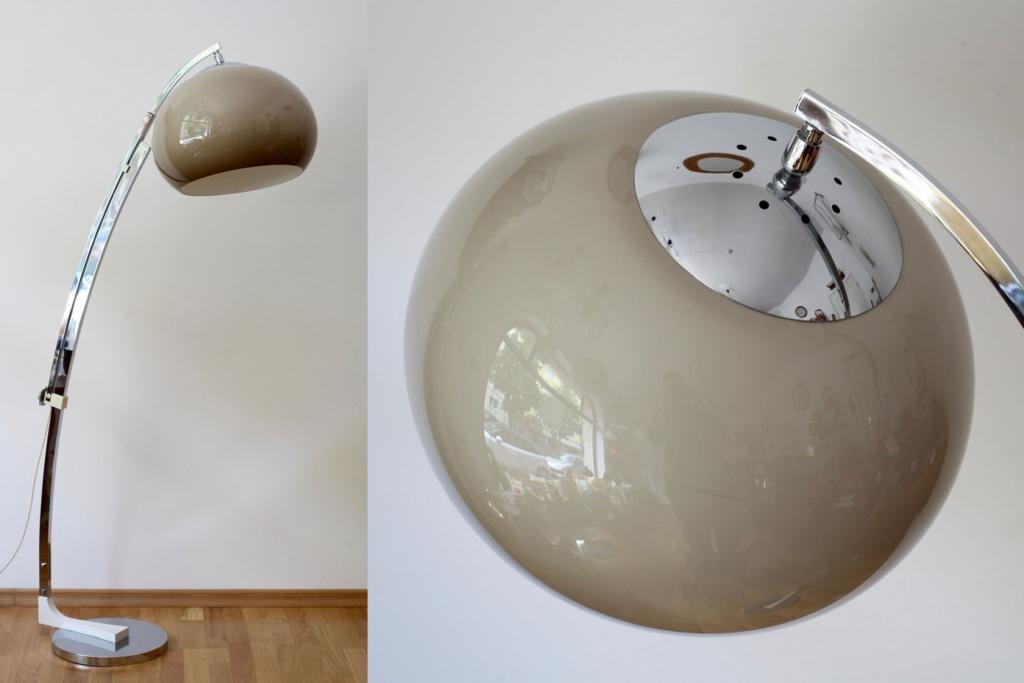 60ies-Bogenlampe von Sölken-Leuchten - raumwunder - vintage wohnen ...