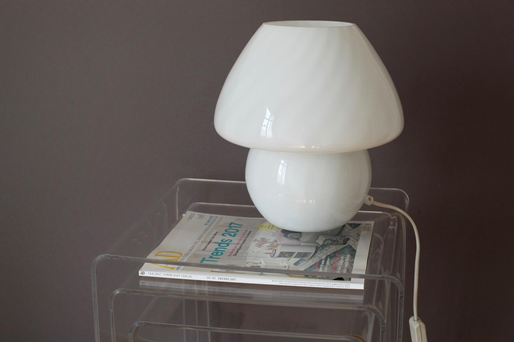 pilzlampe aus den 70er jahren raumwunder vintage wohnen in n rnberg. Black Bedroom Furniture Sets. Home Design Ideas