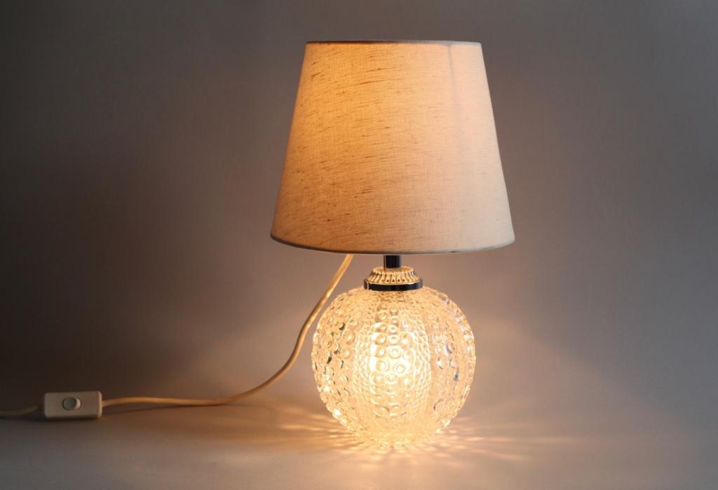 60ies tischlampe von hustadt leuchten raumwunder. Black Bedroom Furniture Sets. Home Design Ideas