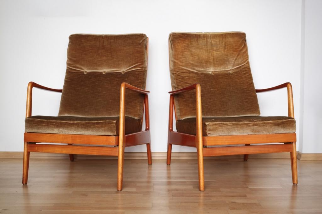 zwei easy chairs aus den 60er jahren raumwunder vintage wohnen in n rnberg. Black Bedroom Furniture Sets. Home Design Ideas