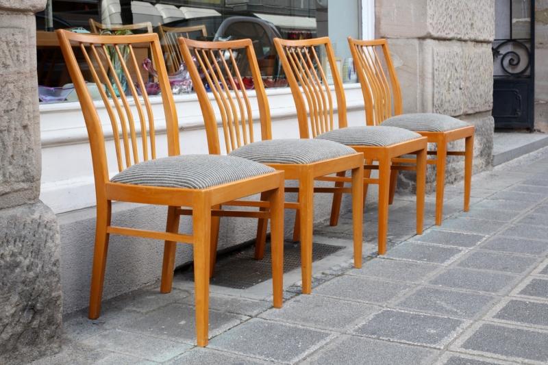 satz st hle aus den 50er jahren raumwunder vintage wohnen in n rnberg. Black Bedroom Furniture Sets. Home Design Ideas