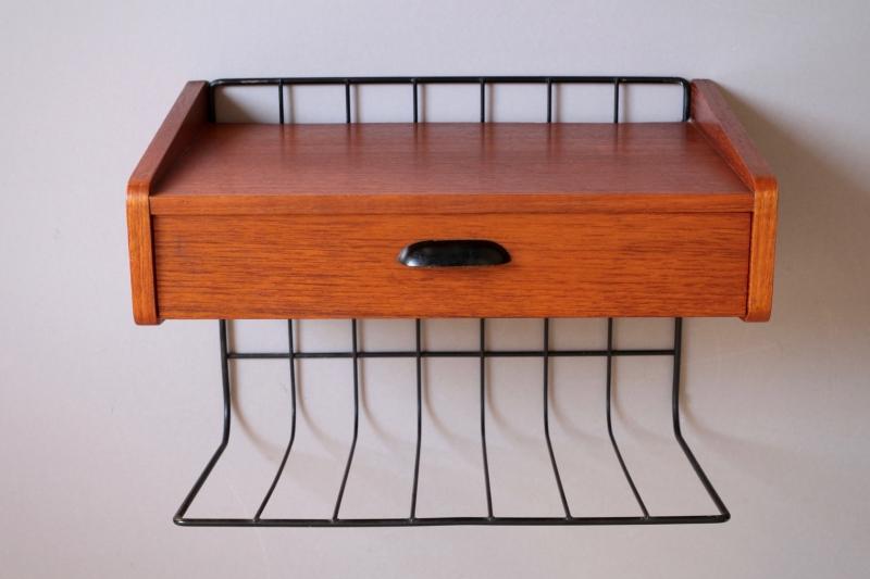 kleine string wandkonsole raumwunder vintage wohnen in. Black Bedroom Furniture Sets. Home Design Ideas